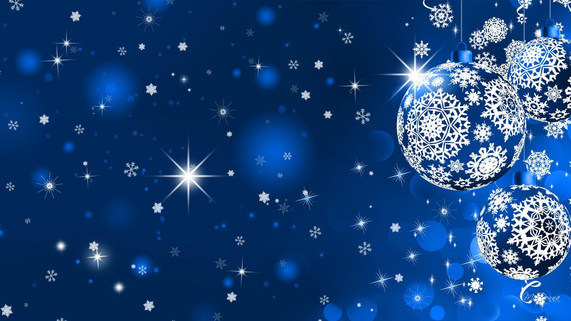 Poklidné Vánoce a pohodový nový rok 2019 modrá obloha s hvězdami