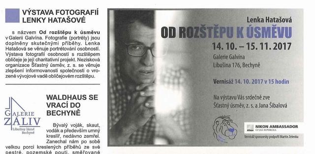 Bechyňský zpravodaj 10/2017 - článek o výstavě