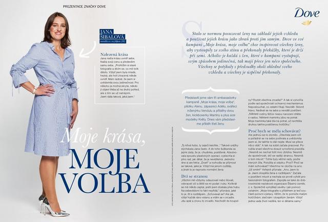Žena a život - článek v časopise
