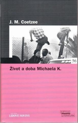 Život a doba Michaela K. - obálka knihy